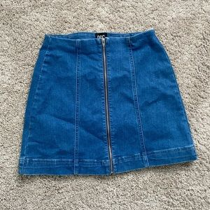BDG Urban Outfitters Blue Jean Mini Skirt